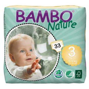 پوشک بچه بامو سایز 3 بسته 33 عددی