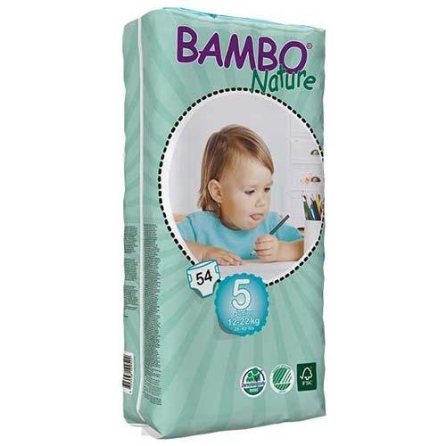 پوشک بچه بامبو سایز 5