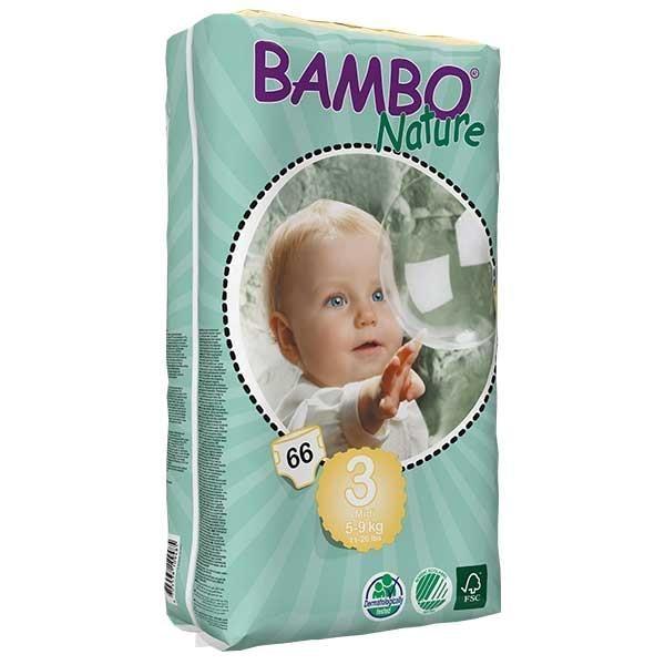 پوشک بچه بامبو سایز 3