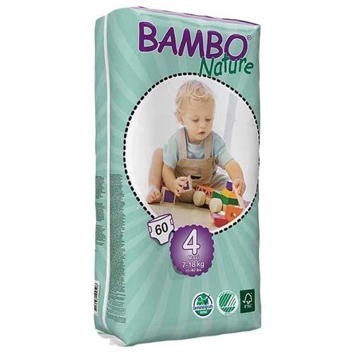 پوشک بچه بامبو سایز 4