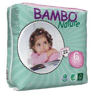 پوشک بچه بامبو سایز6