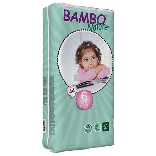 پوشک بچه بامبو سایز 6