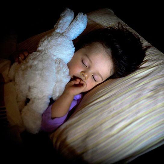 راحت خوابیدن کودک در شب