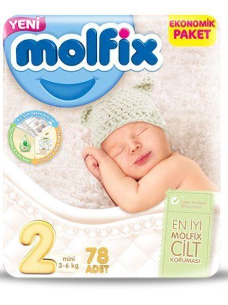 پوشک بچه مولفیکس سایز ۲ (Molfix Size 2 Diape ) در سایت ناجی طب