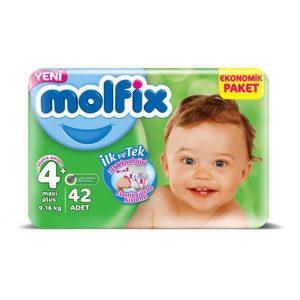 پوشک بچه مولفیکس سایز ۴ (42) (Molfix Size 2 Diape ) در سایت ناجی طب