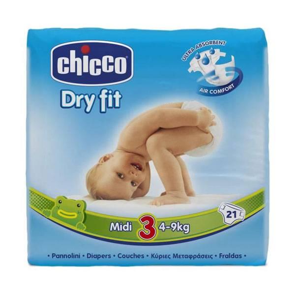 پوشک چیکو سایز ۳ (chicco) فروش در فروشگاه آنلاین ناجی طب