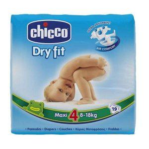پوشک چیکو سایز ۴ (chicco) فروش در فروشگاه آنلاین ناجی طب