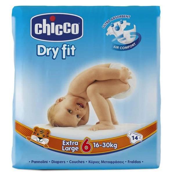 پوشک چیکو سایز ۶ (chicco) فروش در فروشگاه آنلاین ناجی طب
