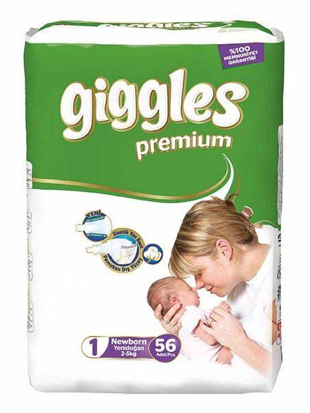 پوشک گیگلز سایز ۱(giggles) در سایت ناجی طب فروشگاه آنلاین ناجی طب